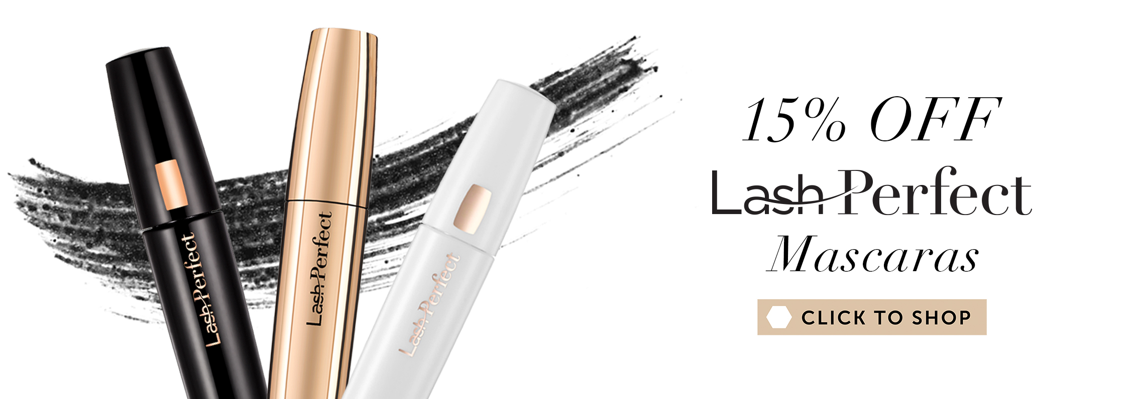 15% off Lash Perfect Mascaras