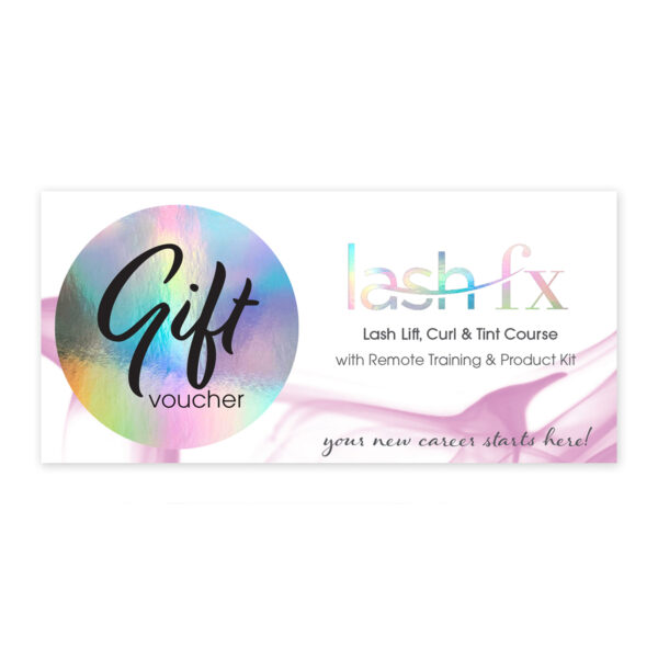 Lash Lift, Curl And Tint Gift Voucher